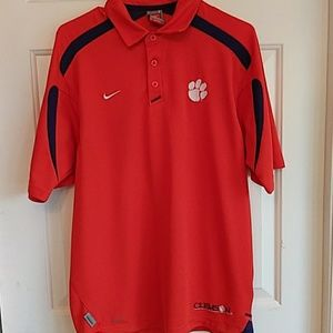 Authentic Nike Clemson Shirt Size S